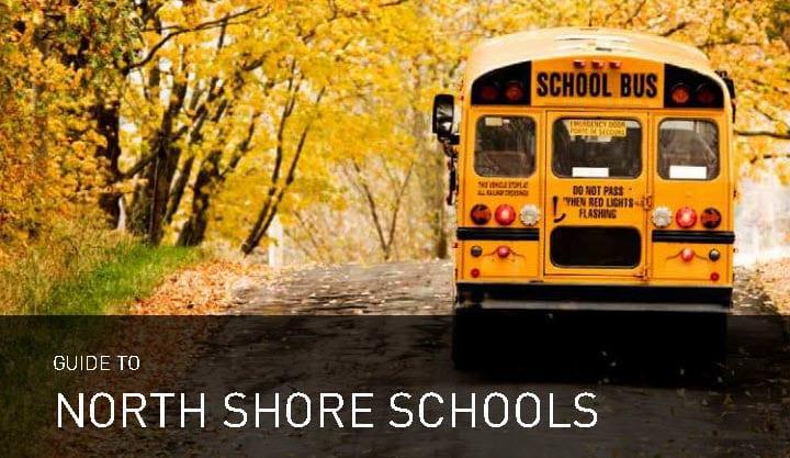 North Shore School Book Cover